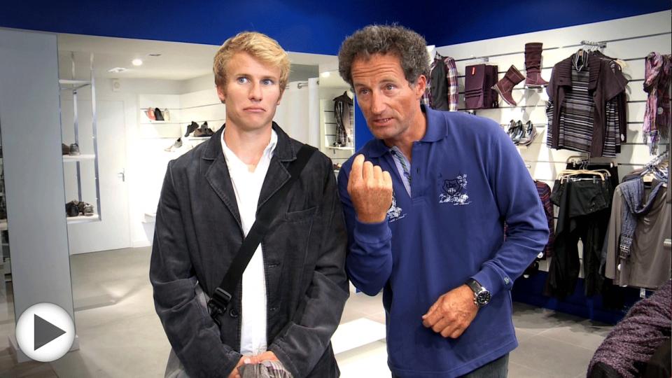 Quand François G. et Michel D. font du shopping
